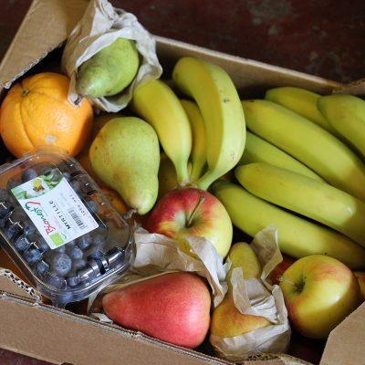 Organic fruit boxes