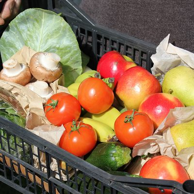Medium organic mixed fruit & vegetable box - Felicity