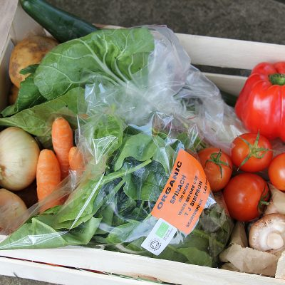 Standard organic vegetable box - Doug