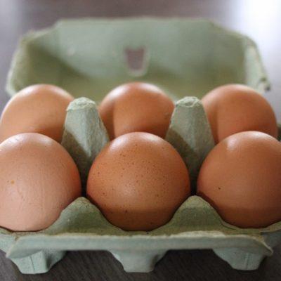 Organic free-range eggs