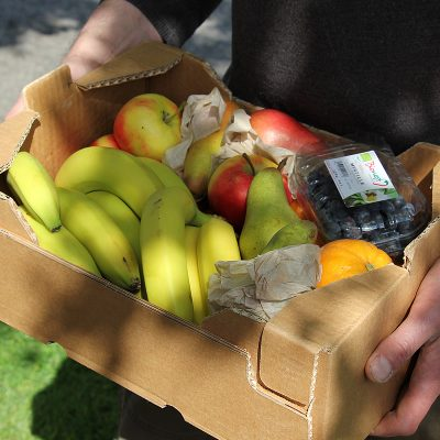 Large organic fruit box - Melanie