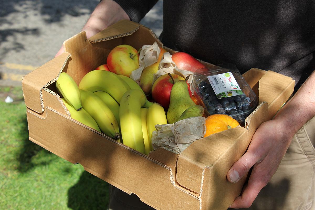 Large organic fruit box - Melanie