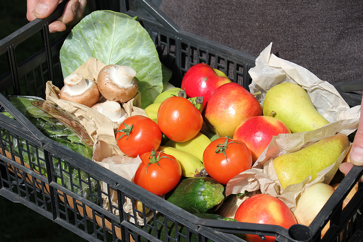 Medium organic mixed fruit & vegetable box - Felicity