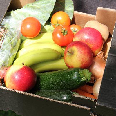 Small organic mixed fruit & vegetable box - Norman