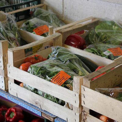 Small organic vegetable box - Bella